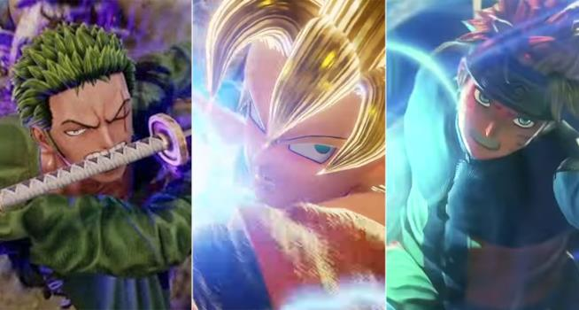 Jump Force: i personaggi principali