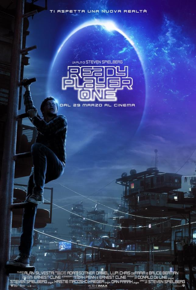 Il poster ufficiale di Ready Player One