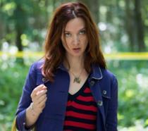L'attrice francese Odile Vuillemin in Profiling