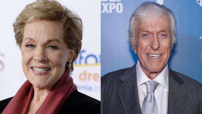 Julie Andrews e Dick Van Dyke
