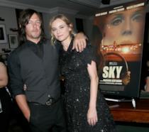 Norman Reedus e Diaqne Kruger alla presentazione del film Sky