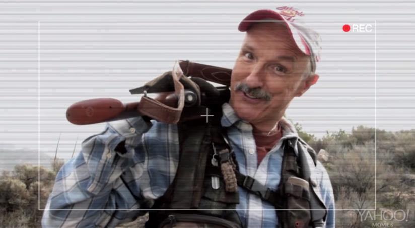 Michael Gross nel ruolo di Burt Gummer