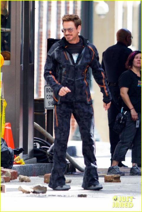 Allora il motion capture suit di Tony Stark va bene per tutte le stagioni