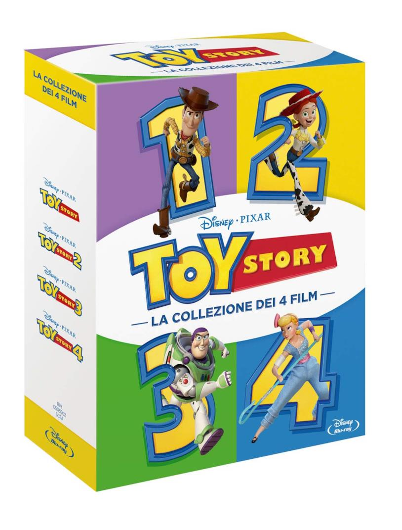 Il box set con la saga di Toy Story