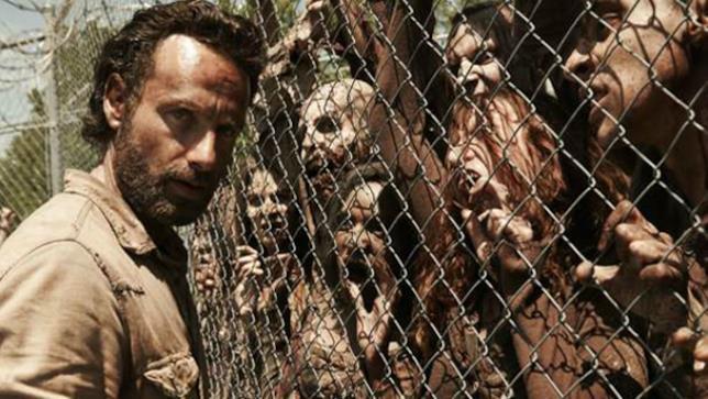 Una immagine tratta dalla serie The Walking Dead