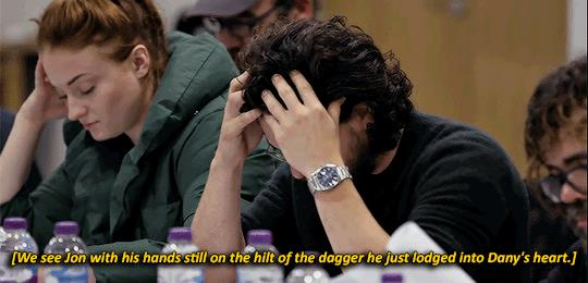 Kit Harington scopre che Jon uccide Daenerys