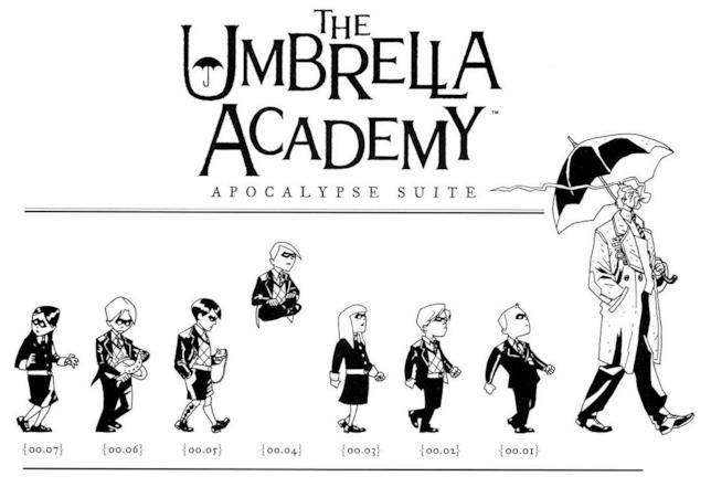 I sette bambini adottivi di Umbrella Academy seguono Sir Reginald