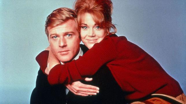 Robert Redford e Jane Fonda in A piedi nudi nel parco