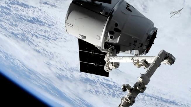 Uno dei satelliti di SpaceX in orbita