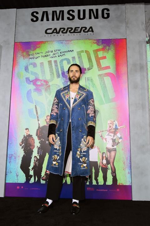 Jared Leto alla prima di Suicide Squad