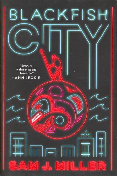 La copertina originale di Blackfish City