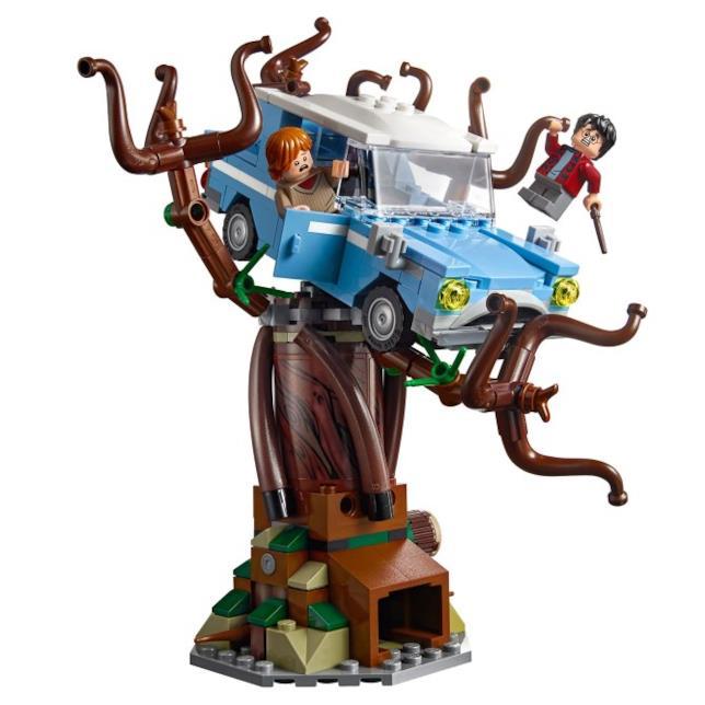 Dettagli del Platano Picchiatore incluso nel set LEGO Hogwarts Whomping Willow (Il platano picchiatore)