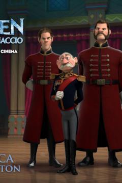 Il Duca di Weselton nel character banner di Frozen