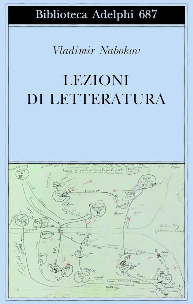 La copertina di Lezioni di letteratura