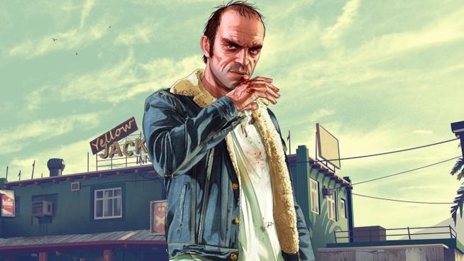 Trevor, uno dei protagonisti del blockbuster GTA V