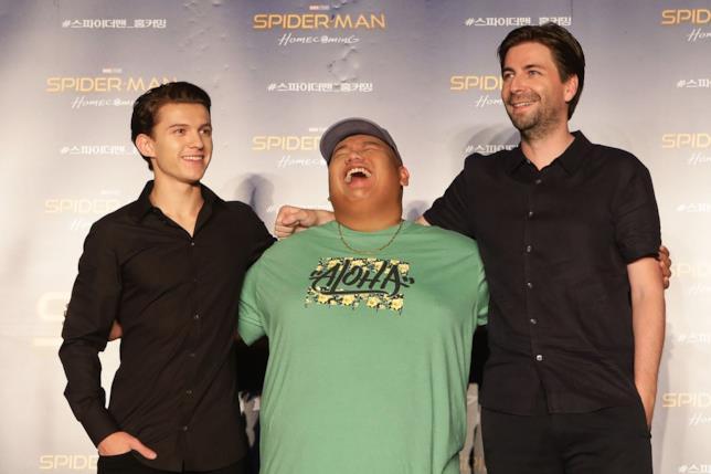 I protagonisti di Spider-Man: Homecoming alla premiere del film