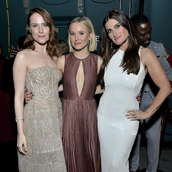 Una foto di Idina Menzel, Kristen Bell e Evan Rachel Wood