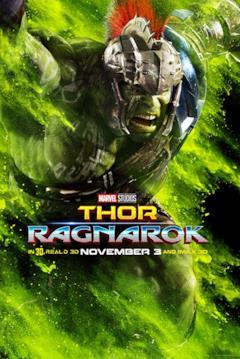 Hulk in un poster del film