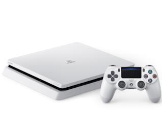 Sony PS4 Glacier White e Dualshock a corredo