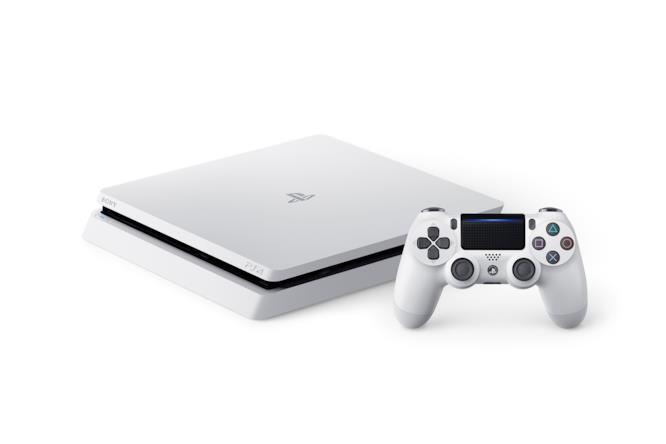 Sony PS4 Glacier White con Dualshock