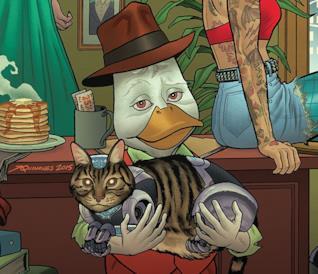 Dettaglio della cover di Howard The Duck Vol. 1: Duck Hunt