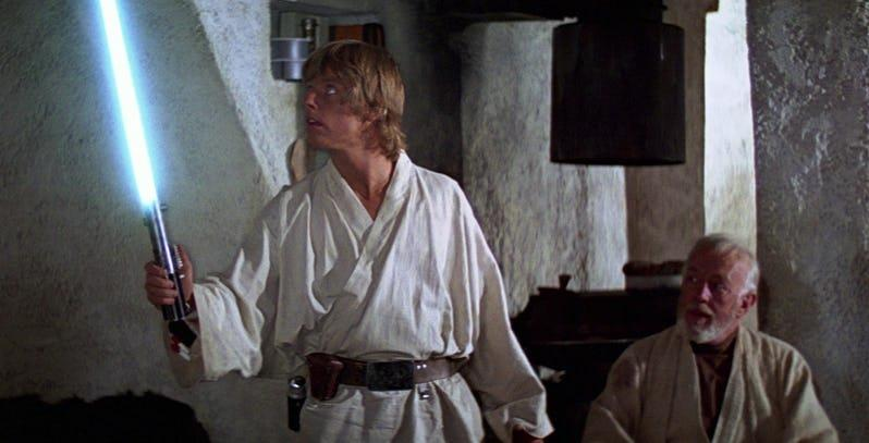 Immagine di Luke Skywalker e Obi-Wan