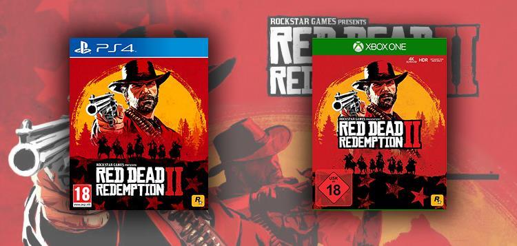 Copertine di Red Dead Redemption 2 per PlayStation 4 e Xbox One