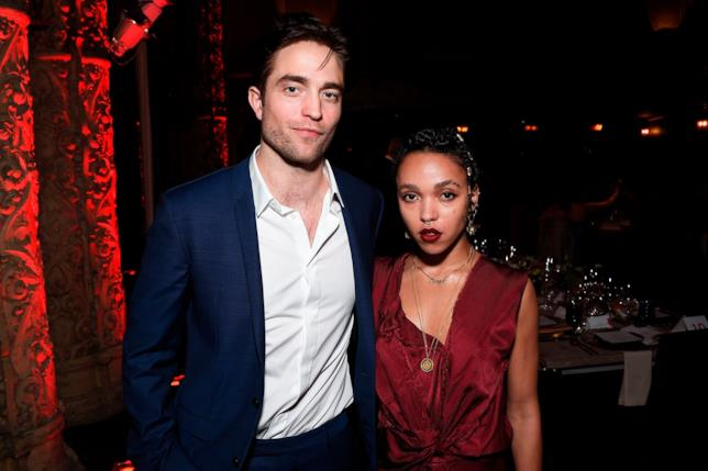 Un raro scatto di Robert Pattinson e FKA Twigs