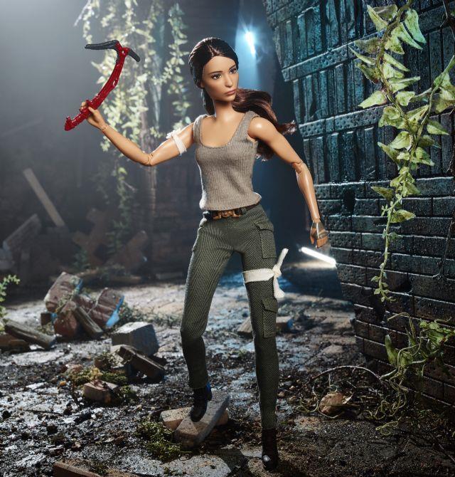 Mattel annuncia la prima Barbie ufficiale di Tomb Raider