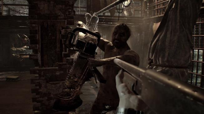 Uno scontro a fuoco in Resident Evil 7