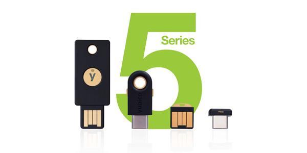 La nuova gamma YubiKey 5 Series