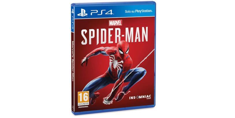 La copertina di Marvel's Spider-Man per PlayStation 4