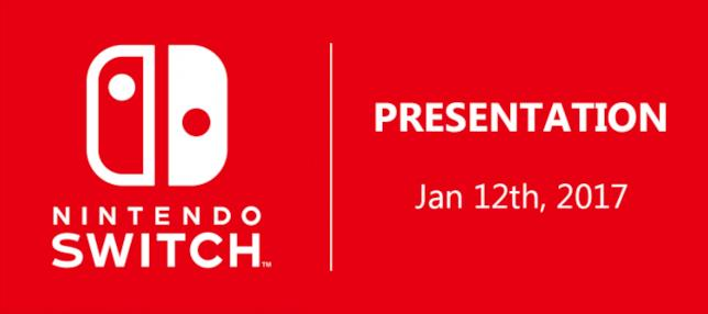 Nintendo Switch in uscita a marzo 2017