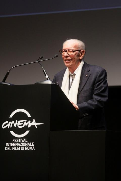 Intervento di Gian Luigi Rondi al Festival del Cinema di Roma