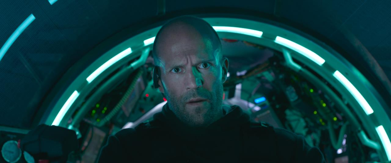 Jason Statham nel sottomarino