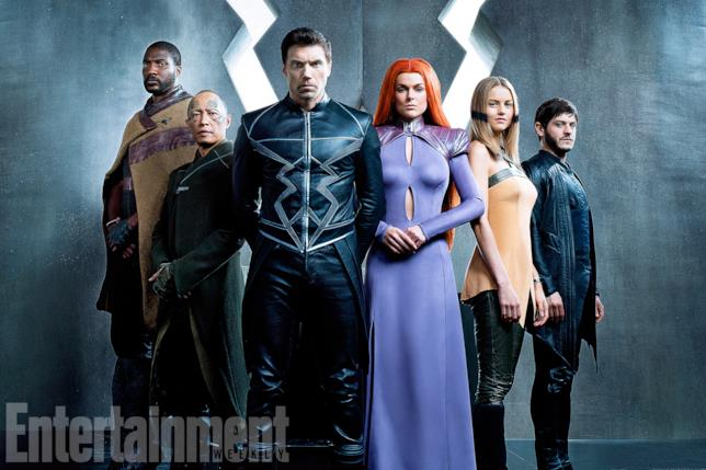Gli Inumani nella prima foto ufficiale della serie TV