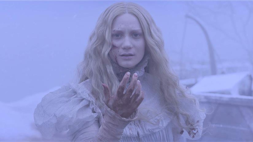 Mia Wasikowska è Edith Cushing in Crimson Peak