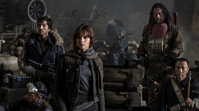 Rogue One, il cast torna sul set