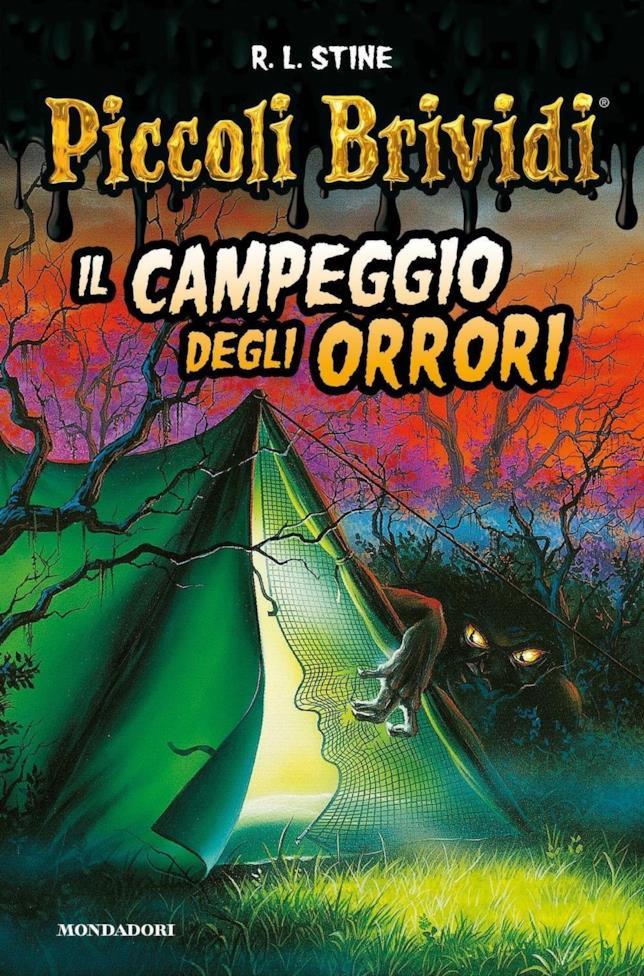 Una tenda di notte nel bosco