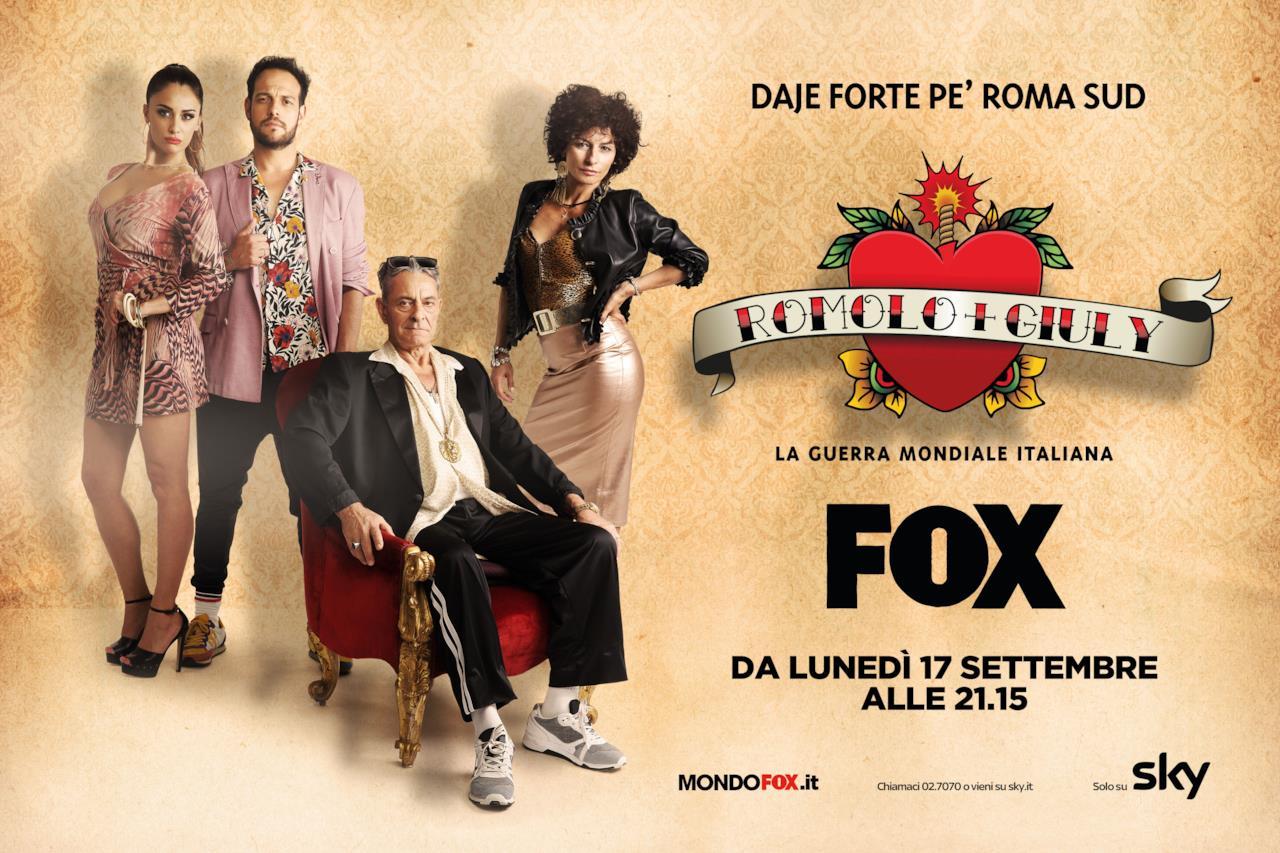 I Montacchi, la famiglia di Romolo in Romolo e Giuly di FOX