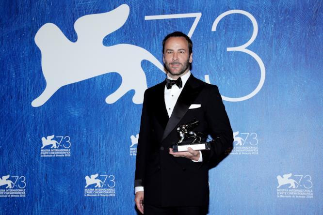 Tom Ford premiato a Venezia 73