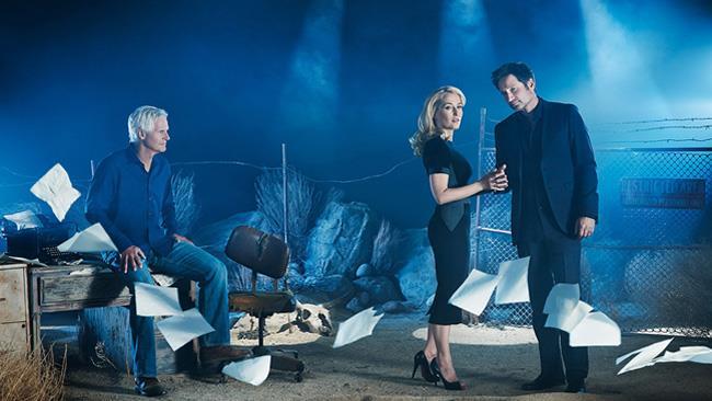 X-Files, David Duchovny, Gillian Anderson e Chris Carter