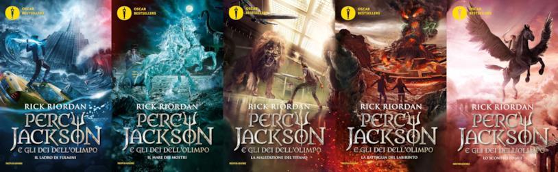 I cinque libri di Percy Jackson e gli dei dell'Olimpo