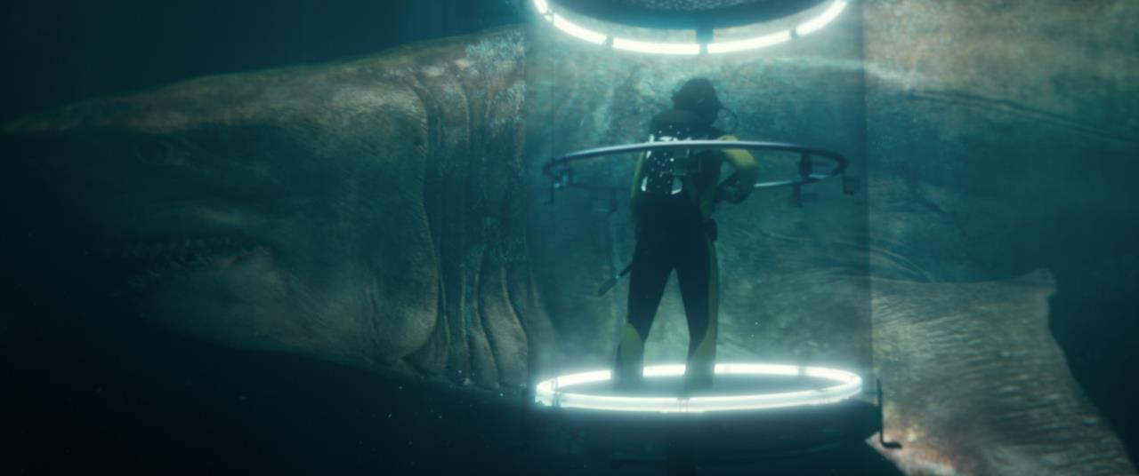 Una scena di Shark - Il primo squalo