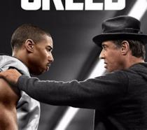 La locandina del primo Creed con Sylvester Stallone e Michael B. Jordan