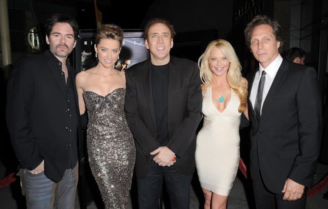Billy Burke, Amber Heard, Nicolas Cage, Charlotte Ross e William Fichtner