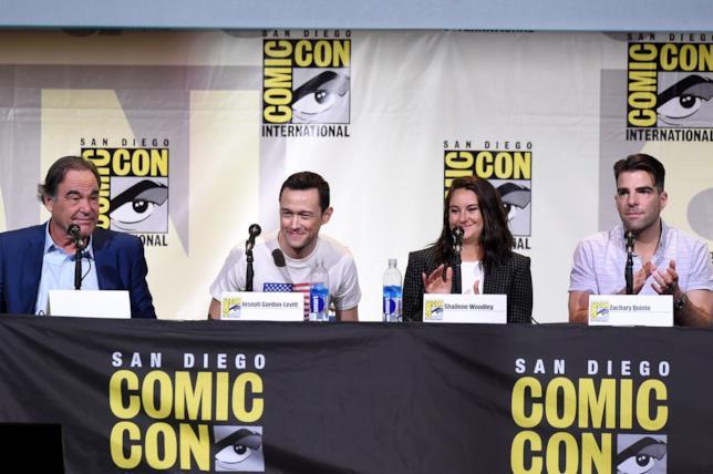 Oliver Stone al Comic-Con 2016 a San Diego