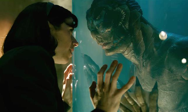 La forma dell'acqua di Guillermo del Toro