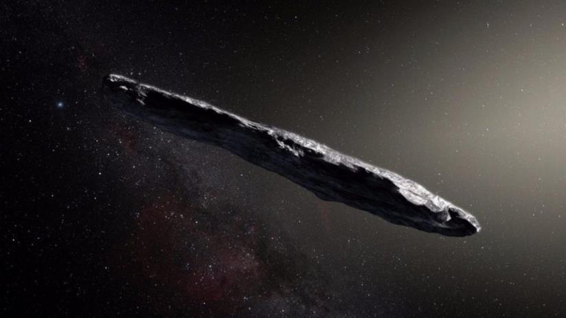 Oumuamua, l'oggetto a forma di sigaro