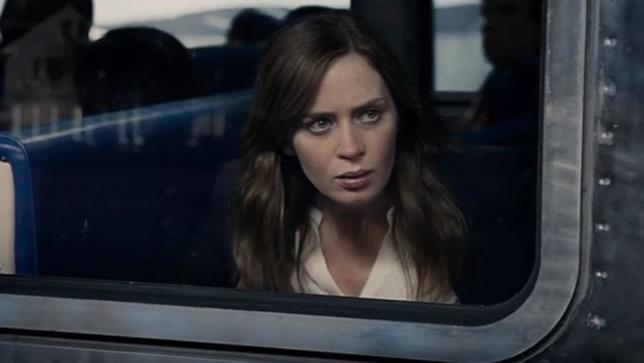 Emily Blunt nel film La Ragazza del Treno